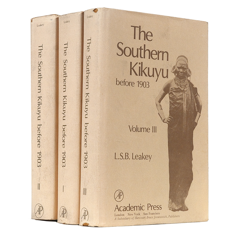LEAKEY, L. S. B. The Southern Kikuyu before 1903.