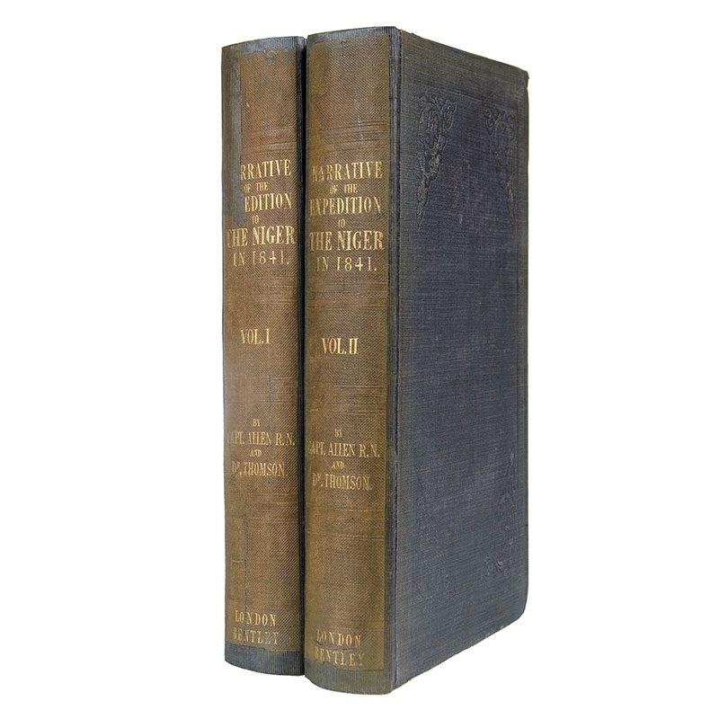 ALLEN, William & T. R. H. Thomson. A Narrative of the Expedition sent by Her Majesty's Government to The River Niger in 1841.