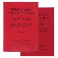 MCINTOSH, Susan Keech & Roderick J.. Prehistoric investigations in the region of Jenne, Mali: a study in the development of urbanism in the Sahel.