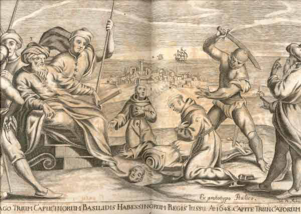 "An illustration from Ludolf's ""Historia Aethiopica"" of 1681."
