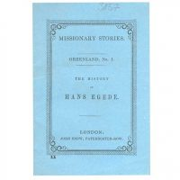 The History of Hans Egede.